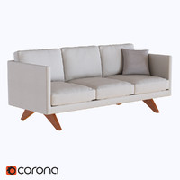 West elm Brooklyn Upholstered Sofa
