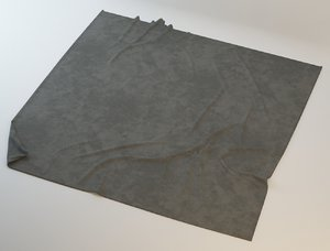 carpet rug wrinkles 3d max