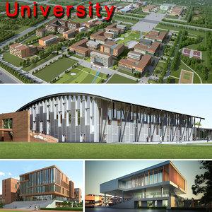 3d model university