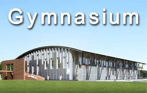 stadium university 3d max