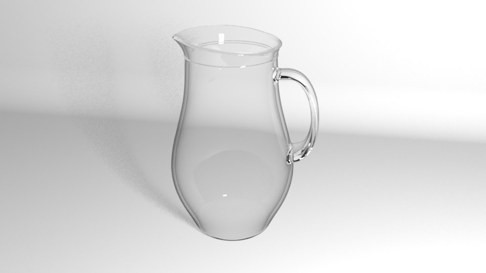 x glass jug
