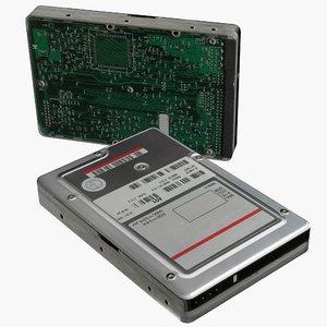 3d model of hard disk