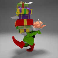 3ds max gnome gift