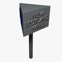scotland yard rotating 3d model
