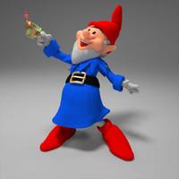 gnome tea 3d model