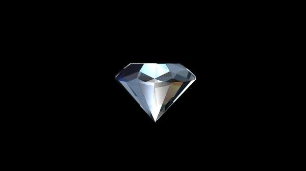 diamond animation 3d ma