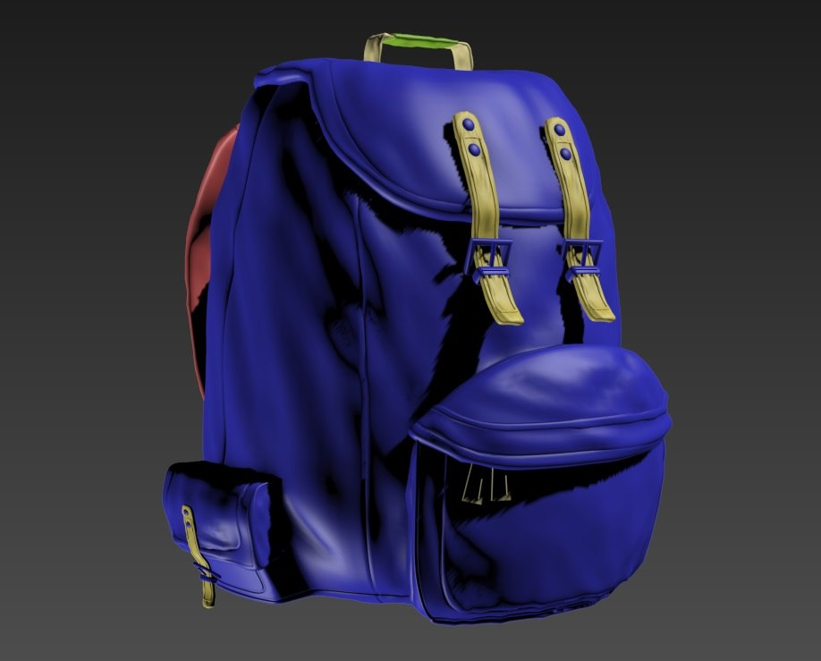 3d backpack pack
