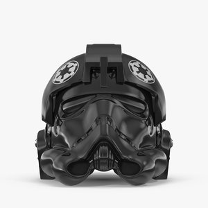 force awakens pilot helmet 3d max