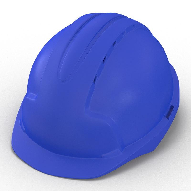 safety helmet blue max
