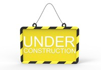 Protection Sign Under Construction
