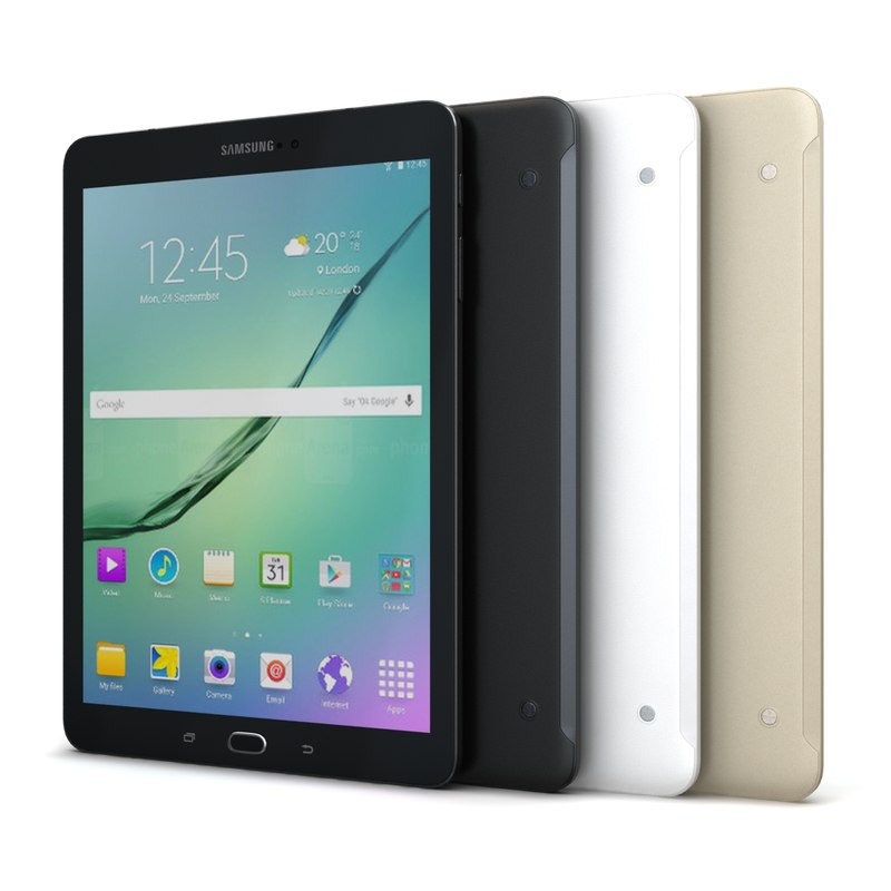 3d samsung galaxy tab s2 model