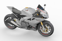 aprilia rsv4 rr 2015 3d model