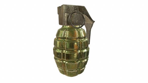 grenade pbr 3ds