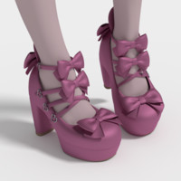 3ds max lolita shoes