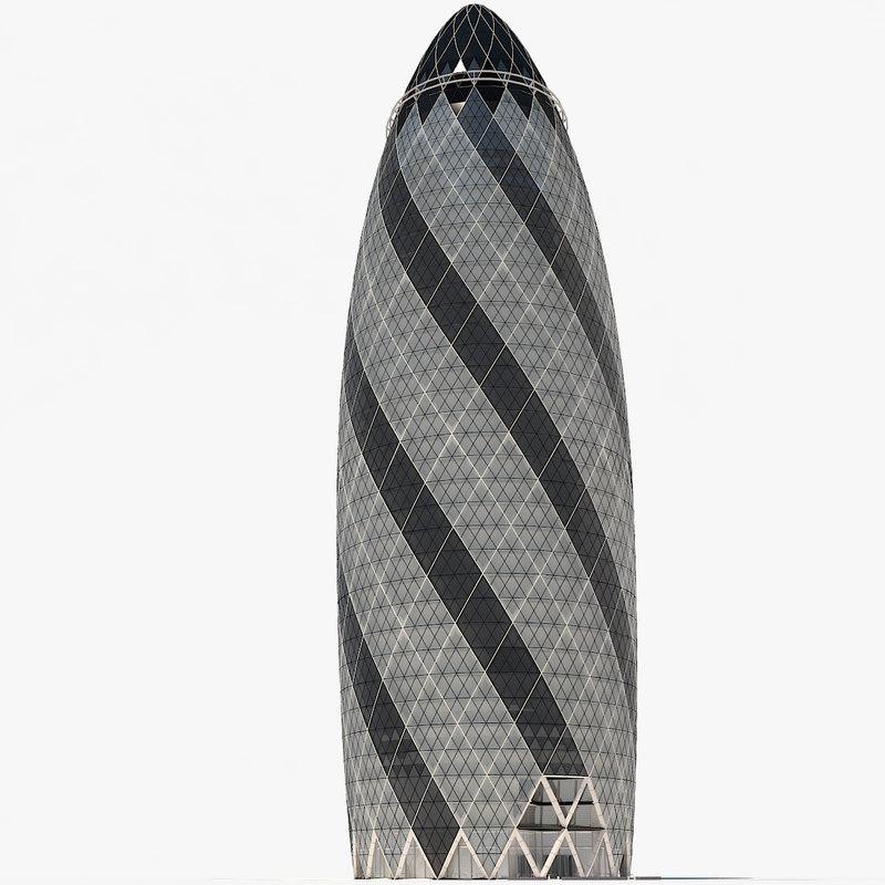 gherking skyscraper obj