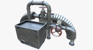 fuel valve 3d model