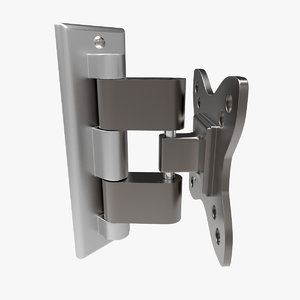 3d model short articulated arm