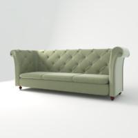 sofa capito obj