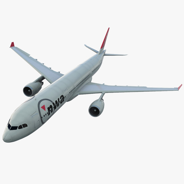 3ds max jet airliner airbus a330-300