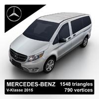 max 2015 mercedes-benz v-klasse van