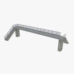 3ds pedestrian bridge -