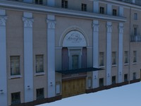 3d stanislavskiy theatre model