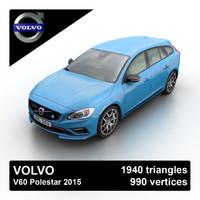 Volvo V60 Polestar 2015