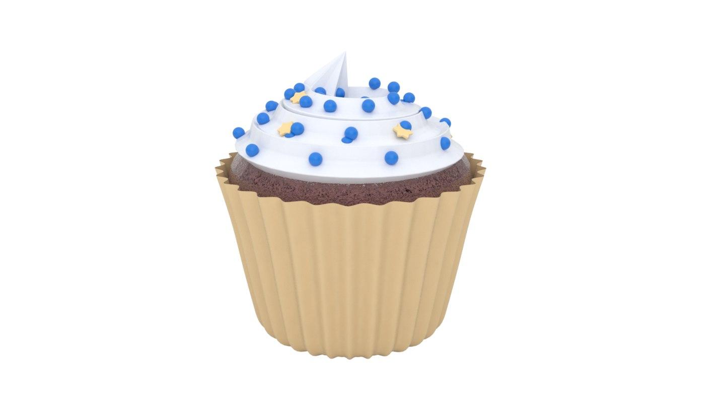 3ds max realistic cupcake v2