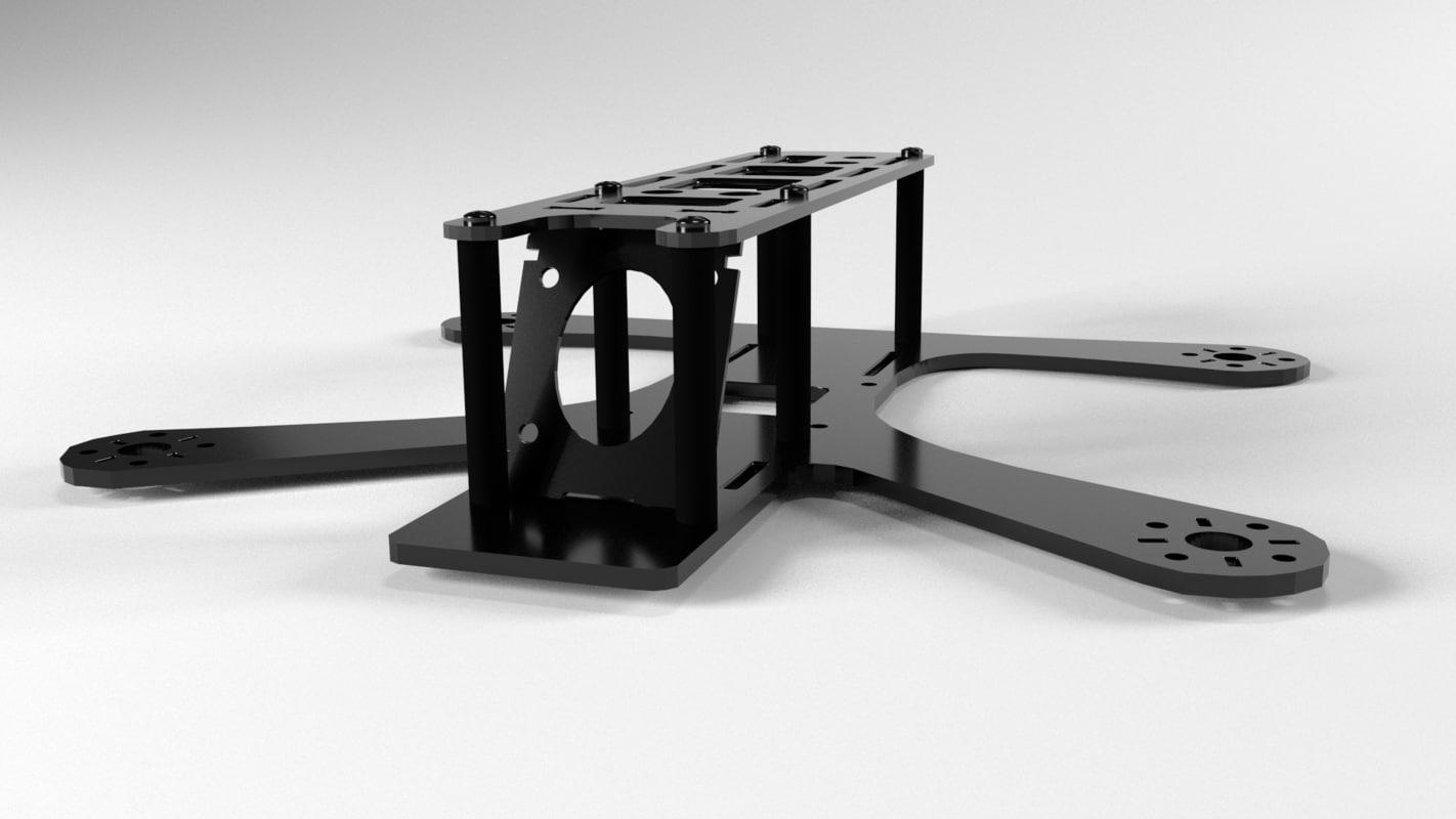 3d model frame tweaker 180