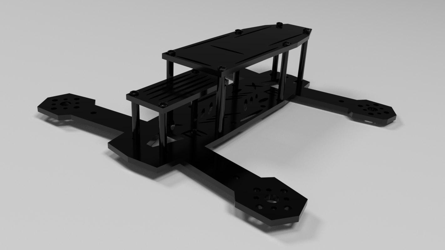 frame xe180 3d obj