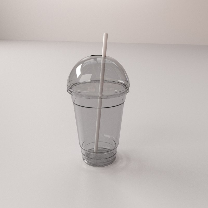 3ds max dome disposable cup