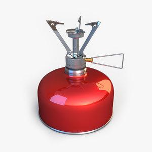 3d gas burner