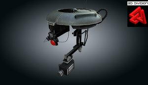 3d drone robot