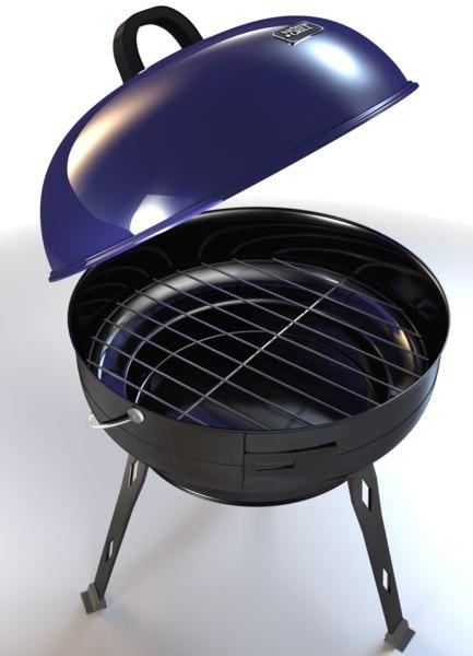 3d model grill interior