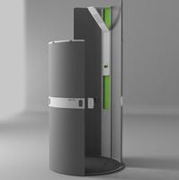 shower concept 3d max