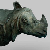 rhino head 3d model
