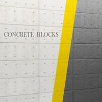 concrete panel 3d max