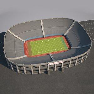 3d stadium 1x2 model