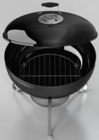 3d model smokey joe grill