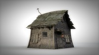 3d 3ds old house