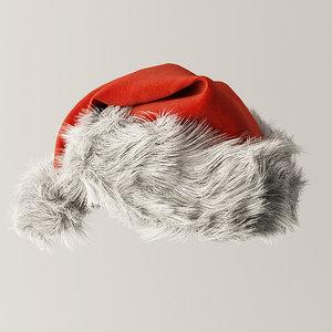 santa hat fbx