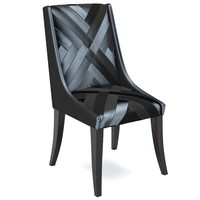 3d model aiveen daly chair chevron