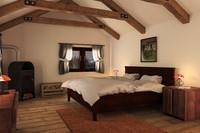 3d model farmhouse bedroom