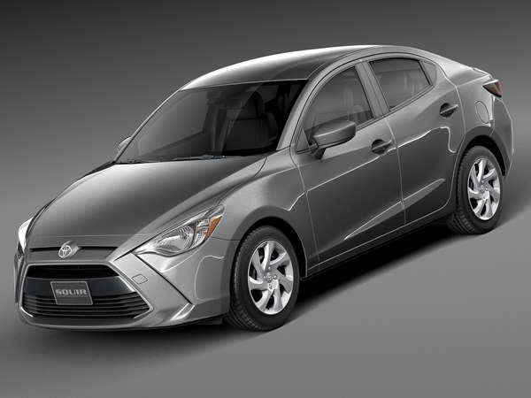 2016 sedan toyota 3d 3ds