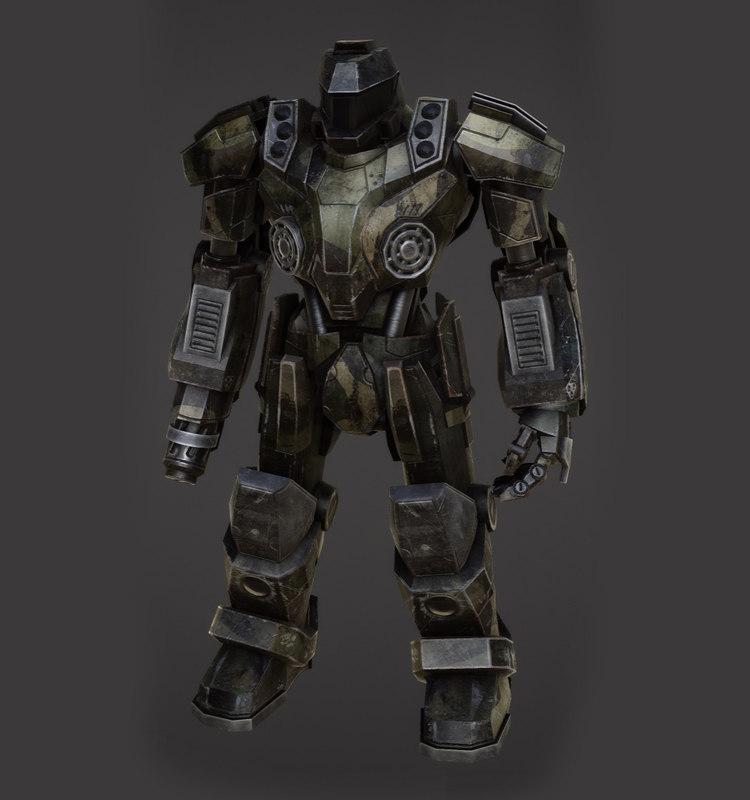 heavy robot fbx