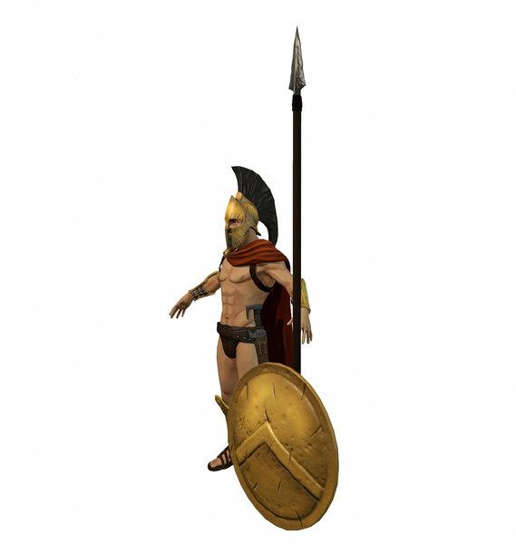 blend spartan warrior