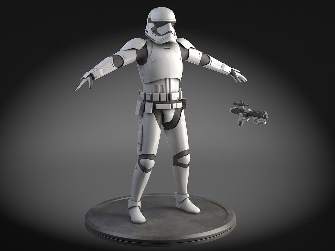 3d model star wars light