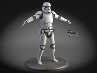 3d model star wars light