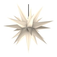 moravian star white