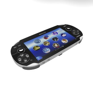 3d model sony playstation vita